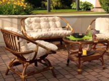 Садовая мебель: правильный уход и хранение