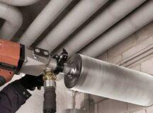 Алмазное бурение (сверление) в бетоне: этапы процесса и особенности
